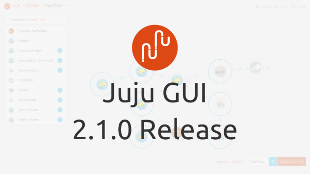 2.1.0 juju screen